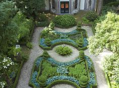 An Amsterdam garden.