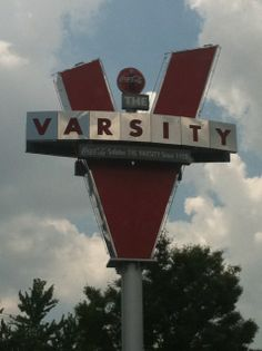 The Varsity is an Atlanta institution and has the best hot dogs in town!