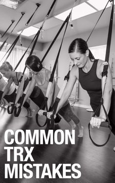 Read this to correct your TRX mistakes!