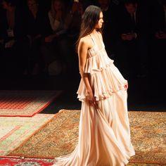 Houghton collection at Barcelona Bridal Week 2015 #weddings #bodas #vestidos #fashion #bridal #weddingplanner #pearlsandals