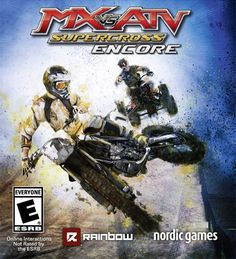 MX vs ATV: Supercross Encore Edition vs Monster Jam Crush It! - This is **MX vs. ATV: Supercross Encore Edition** on the **Xbox One**. The title says what it is! An MX vs ATV: Supercross racing game that will have Motocross, Fun Games, Games For Kids, Nordic Games, Latest Video Games, Game Engine, Xbox One Games, Playstation Games, Game Sales