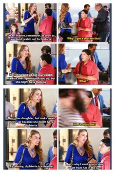 Haha absolutely love Gloria <3 Modern Family