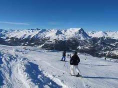 Blick vom Skigebiet Bergkastel http://www.post-nauders.com/