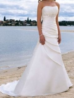 ebay david's bridal dress