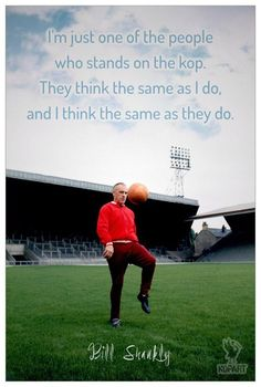♠ The History of Liverpool FC In Pictures - The Great Bill Shankly Retro Football, Best Football Team, Liverpool Football Club, Football Stadiums, Football Posters, Liverpool Fc Managers, Liverpool You'll Never Walk Alone, Bill Shankly, Liverpool Legends