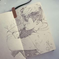 Sketches I did some weeks ago Kyungsoo, Exo Fan Art, Art Drawings Sketches, Anime Sketch, Kpop Fanart, Manga, Artist Art, Art Inspo, Art Lessons