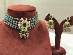 Pendant Earrings, Necklace Set, Shri Lanka, Indian Jewelry Earrings, Jewellery, Antique Jewelry, Handmade Jewelry, Chokers, Shapes
