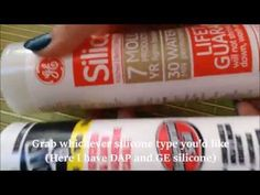 How to Color Silicone for Decoden/Decoration/Crafts - YouTube