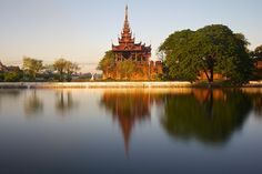 Mandalay Palace, home to the last two kings of Myanmar: the pious Mindon Min and…