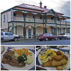 Good honest pub tucker at the Branxholm Imperial Hotel in north east Tasmania. Article for Think Tasmania.
