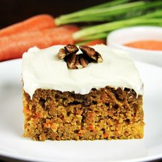 Double Carrot Cake with Cream Cheese Frosting by Activz