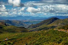 The top of the Fransshoek Pass with the Theewaterskloof dam in the background. A 10 minute drive from La Clé - 4 luxurious villas on a working wine farm Cape Town South Africa, Villas, Beautiful Places, Landscapes, Southern, Wine, Top, Photography, Travel