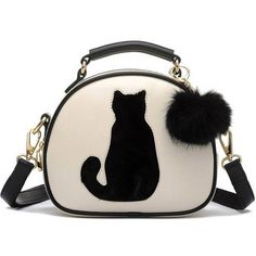 $28.58 (Buy here: https://alitems.com/g/1e8d114494ebda23ff8b16525dc3e8/?i=5&ulp=https%3A%2F%2Fwww.aliexpress.com%2Fitem%2F2016-Cat-Printing-Bag-Ladies-Crossbody-Bags-Circle-Women-Leather-Handbags-with-Fur-Ball-Women-Messenger%2F32689113350.html ) 2016 Cat Printing Bag Ladies Crossbody Bags Circle Women Leather Handbags with Fur Ball Women Messenger Bag WZ3 for just $28.58