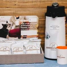 Even if your best friend can't join you on the job, your company can benefit pups with every brew! We are thrilled to announce our new Office Coffee program! If you'd like to learn more, send us a note at Wholesale@groundsandhoundscoffee.com ☕️