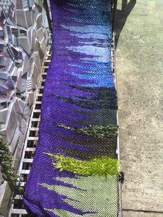 Recent Saori weaving