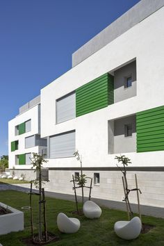 Tel Aviv, Israel  Ganei Shapira Affordable Housing / Orit Muhlbauer Eyal Architects