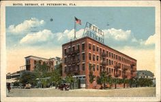 Hotel Detroit ~ St. Petersburg, Florida...Maybe this is why I was destined to move to St. Pete?  Detroit Girl Always!!