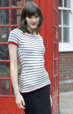 Dull Roar Northern Line Pullover Knitting Pattern