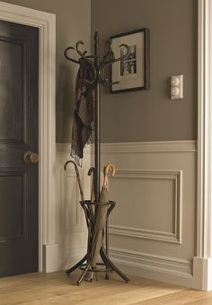 Mouldings add a touch of character to any room within the home.