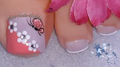 Fall Toe Nails, Simple Toe Nails, Pretty Toe Nails, Cute Toe Nails, Summer Toe Nails, Feet Nail Design, Toe Nail Designs, Simple Nail Designs, Pedicure Nail Art