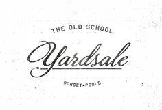 """The Old School Yardsale Scri…"" on Designspiration"