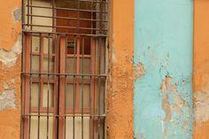 Colors and decay, Mazatlan Mexico.