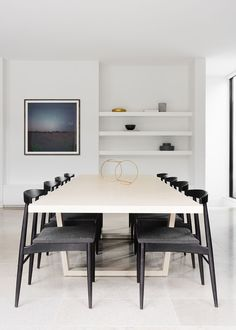 Minimalist dining room decor. Looking for that one and only art photo print for your walls? Visit bx3foto.etsy.com