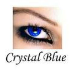 Crystal blue eye contact