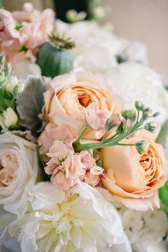 pretty bridal bouquet idea; featured photo: Danielle Coons Photography