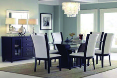 Top dining room sets pier one exclusive on homestre.com Cheap Dining Room Sets, Glass Dining Room Table, Dining Room Design, Dining Area, Dining Rooms, Room Chairs, Dining Chairs, Furniture Design, Chair Design