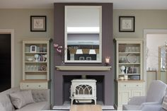 Interiors Hereford, Neptune Interiors- The House of Wood Hereford Chichester, New Living Room, Living Room Decor, Chimney Decor, Home Fireplace, Bedroom Fireplace, Fireplace Ideas, Lounge Decor, Living Room Inspiration
