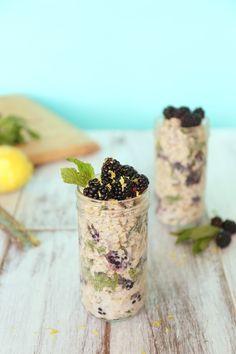 Lemon-Blackberry Mojito