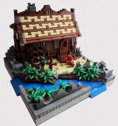Swordsman's house: A LEGO® creation by Kyubi Jimmy : MOCpages.com