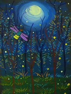 fireflies--great texture and highlights
