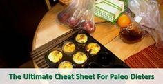 The Ultimate Cheat Sheet For #Paleo #Dieters