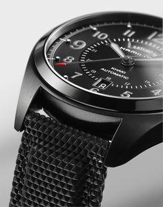 Khaki Field | Black Edition | H70695735 | Hamilton watch