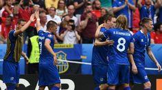 Islandia maju ke tahap sistem gugur di Kejuaraan pertama yang pernah mereka ikuti di Eropa mereka dengan mengalahkan 2-1 Austria di Paris.