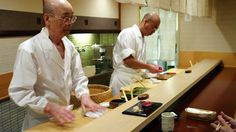 Not just 'another food flick' apparently - Jiro Dreams Of Sushi.  The world's greatest Sushi Chef on his food, his art, his motivation and his food palace - a 10 seat sushi restaurant located in a Tokyo subway station.