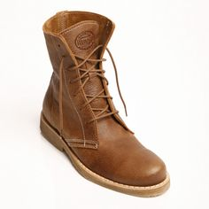 Roots hi-top leather boots