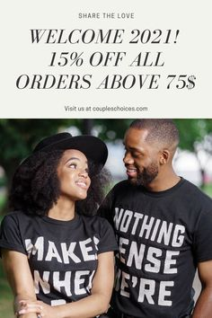 Boyfriend Birthday Gift Ideas! We collect the best matching t-shirts for your soulmate! Shop now to get a special discount! #coupleschoices #matching #t-shirts #giftideas