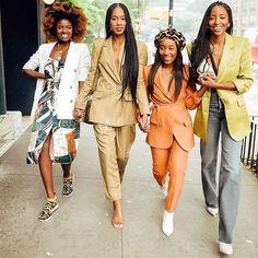 Black Girl Fashion, Look Fashion, Autumn Fashion, Fashion Outfits, Look Street Style, Street Chic, Black Girls Rock, Black Girl Magic, Black Girl Swag