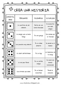 Learn Spanish Online Private Spanish Lessons are a comfortable and effective way of improving with qualified, experienced and native teachers. Spanish Classroom Activities, Spanish Teaching Resources, Writing Activities, Writing A Book, Writing Prompts, Writing Tips, Spanish Games, Spanish Lessons, Learn Spanish