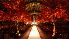 fall wedding reception ideas - Google Search