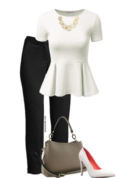 Work spring - outfits for life - summer outfits Spring Work Outfits, Casual Work Outfits, Business Casual Outfits, Work Attire, Chic Outfits, Fashion Outfits, Blue Outfits, Girly Outfits, Fashion Clothes