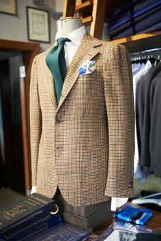 Zaremba, bespoke - Bespoke jacket made with vintage tweed