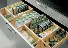 drawer dividers are a DIYable idea found via Washington Spaces Blog.