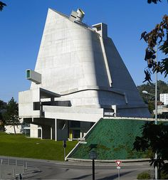Brunner Sanina - Architect - Le Corbusier - Eglise Saint Pierre - Firminy - France - - photo by Cemal Emden Office Building Architecture, Architecture Magazines, Chinese Architecture, Futuristic Architecture, Amazing Architecture, Art And Architecture, Building Design, Office Buildings, Le Corbusier