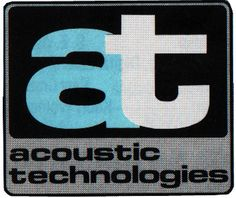 - Acoustic Technologies first logo. AT's logos appear as badges on their products. If you see this one, you have a vintage Rig! Professional Audio, One Logo, Badges, Acoustic, Technology, Logos, Vintage, Products, Tech