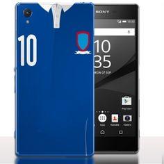 Coque Sony Xperia Z5 Numero 10 France. #Sony #Xperia #Z5 #Case #Football #France