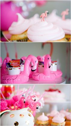 This flamingo-themed birthday party knocked everyone's socks off, and this sweet little birthday girl couldn't have asked for more! Pink Flamingo Party, Flamingo Birthday, Flamingo Pool, Pink Flamingos, First Birthday Parties, Birthday Party Themes, First Birthdays, 24 Birthday, Birthday Ideas